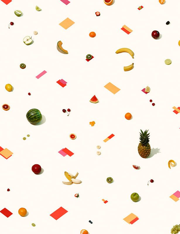 fruits pattern Andrew B. Myers
