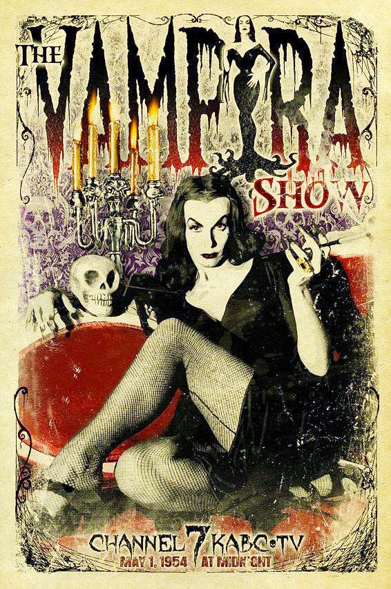 Vampira poster 1954