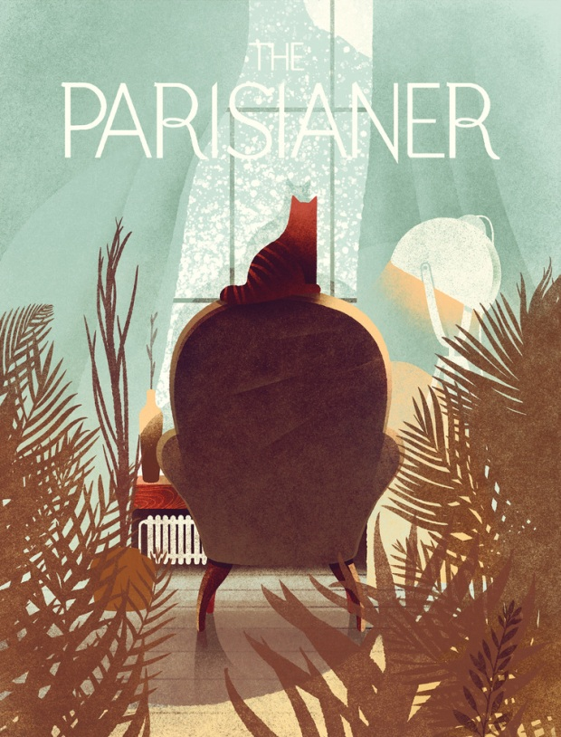 parisianer strautniekas cover illustration