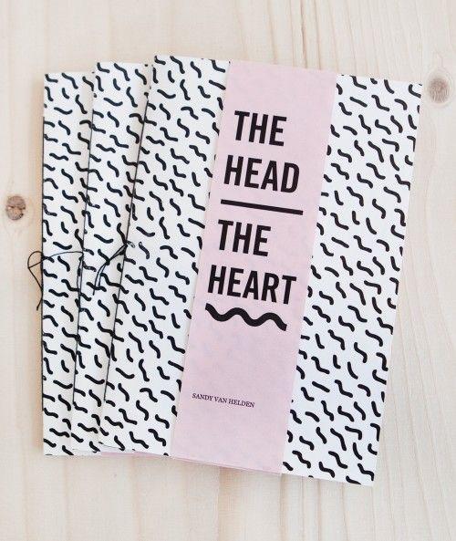 SANDY VAN HELDEN | THE HEAD:THE HEART (ZINE)
