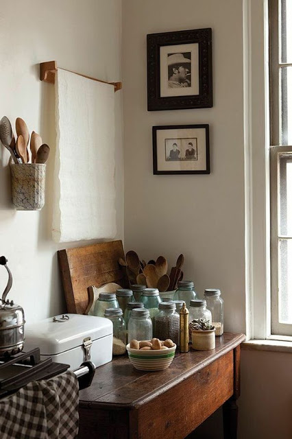 earthy kitchen bohemian homes